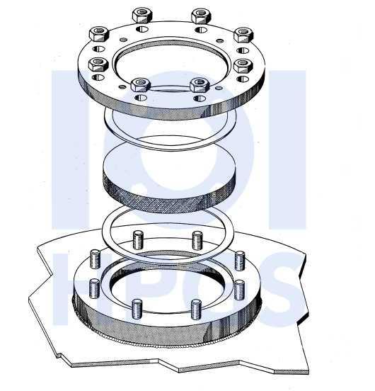 wziernik okrągły DIN28120 1