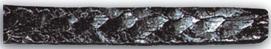 szczeliwo grafitowe_ wzmocnione siatką z drutu ze stali nierdzewnej 6200