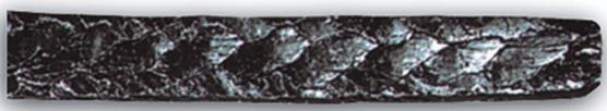 szczeliwo grafitowe_ wzmocnione siatką z drutu ze stali nierdzewnej 6210