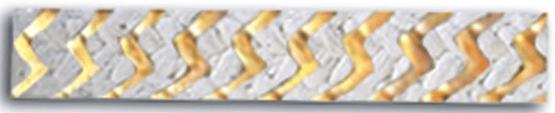 szczeliwo teflonowo-aramidowe_Zebra wzmacniane olejem parafinowym 4120