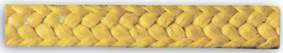 szczeliwo aramidowe staplowa impregnowane PTFE i olejem parafinowym 3300
